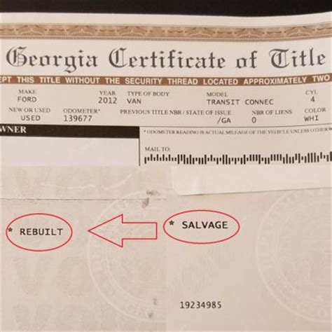 What Does Branded Title by Total Loss Salvage Rebuilt Process Diminished