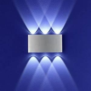 Bewegungsmelder Licht Innen : led wandleuchte stream aluminium wohnlicht ~ Buech-reservation.com Haus und Dekorationen