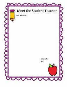 student teacher parent letter template by msfrank2017 tpt With parent letter from teacher template
