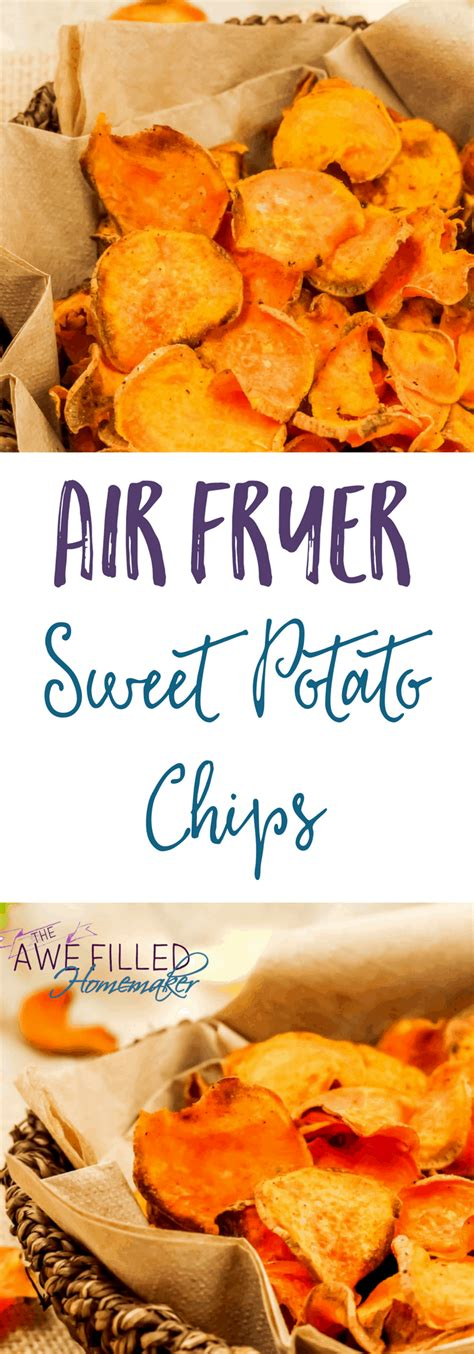 recipes fryer air potato chips sweet recipe oven healthy potatoes crafts teen fun chip instant power pot vegetable snacks