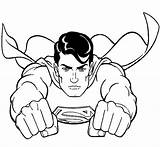 Superman Pages Man Steel Coloring Real Print Atom Origin Getcoloringpages sketch template