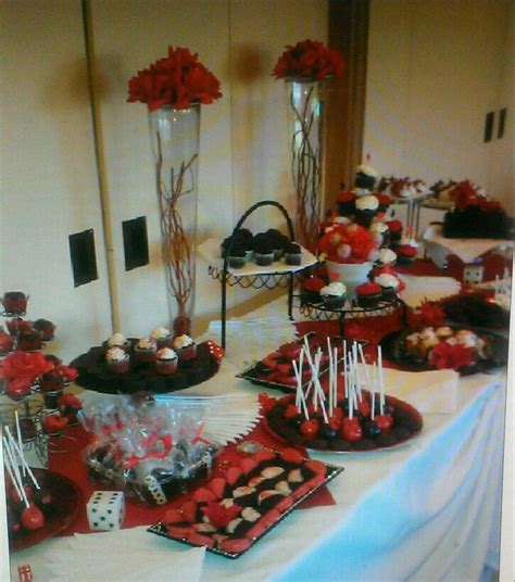 red and black table ls red black and white dessert table dessert tables