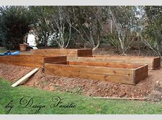 The most difficult part of this project was terracing the