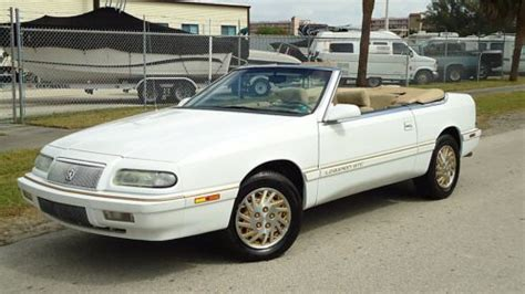 1995 Chrysler Lebaron Gtc Convertible by Find Used 1995 Chrysler Lebaron Gtc Convertible Low