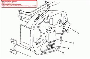 Where Is The Headlamp Relay Located On A 1999 Cad Escalade