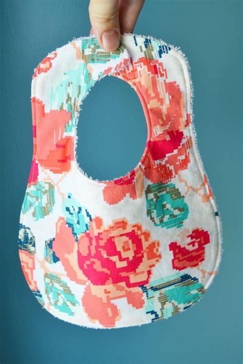 pattern bigger  bib  baby sewing