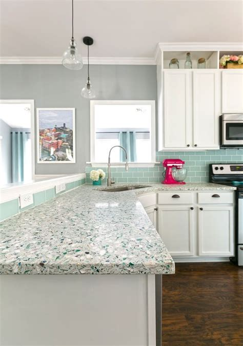 trendy terrazzo decor ideas  kitchens shelterness
