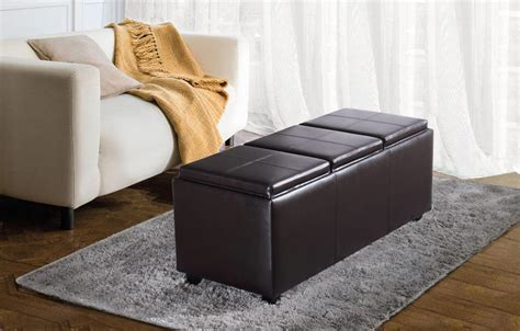 black leather storage ottoman about of black leather storage ottoman home ideas collection