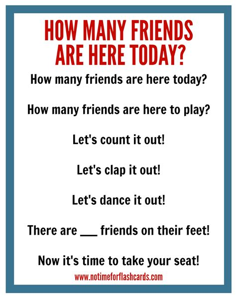good afternoon song preschool circle time chant free printable no time for flash cards 229