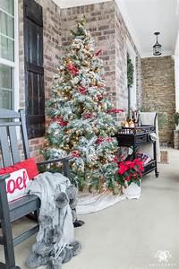 Porch, Christmas, Tree