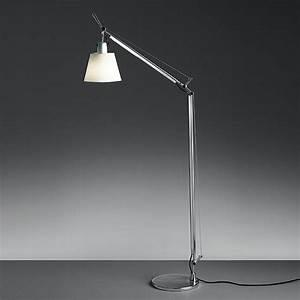Artemide tolomeo reading floor lamp surroundingcom for Classic floor reading lamp