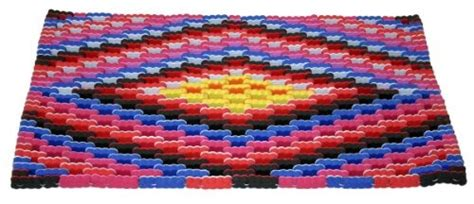Recycled Flip Flop Doormat by Buy Large Flip Flop Doormat Handmade From Recycled