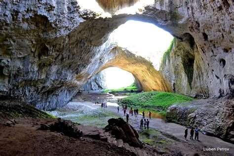 Huge Devetashka Cave Bulgaria World For Travel