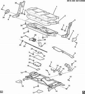 New Gm 88994524 Cover  Rear Seat Cushion For Cadillac Srx