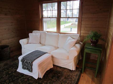 Ikea Furniture Sofa by Left On Highland Part I Ikea Ektorp Vs Pottery Barn