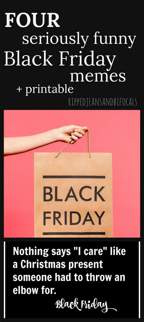 funny black friday memes   printable ripped