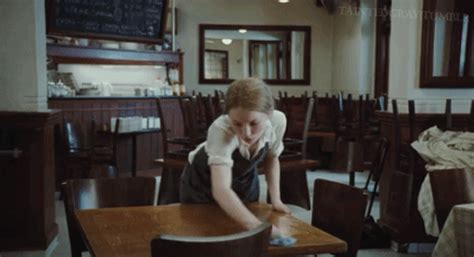 cleaning houses under the table sleeping beauty cleaning gif find share on giphy