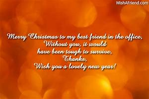 Best Wishes Quo... Holiday Coworker Quotes