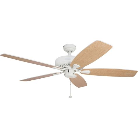 52 inch white ceiling fan honeywell sutton ceiling fan white finish 52 inch