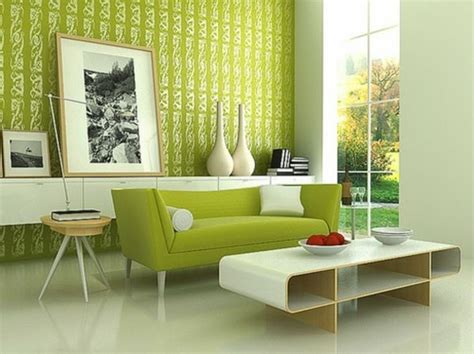 frische ideen fuer wandfarbe  gruen farbtrend