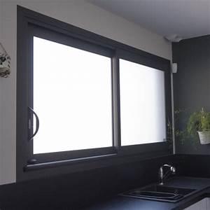 fenetre isolante en aluminium avec ouvrant cache ou visible With fenetre isolante