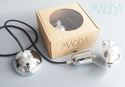 LATVIJĀ RADĪTAS dizaina lampas MADDA hromētā vai baltā ...