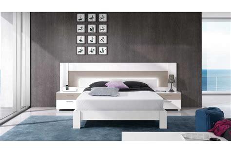 chambre de bébé complete lit moderne 2 personnes blanc et basalte trendymobilier com