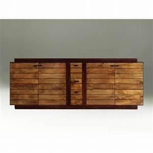 buffet art deco en bois massif vente de meubles retro With meuble en manguier massif