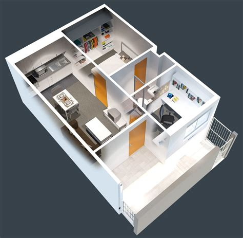 1 Bedroom Apartment House Plans by 1 Bedroom Apartment House Plans Home Decor And Design