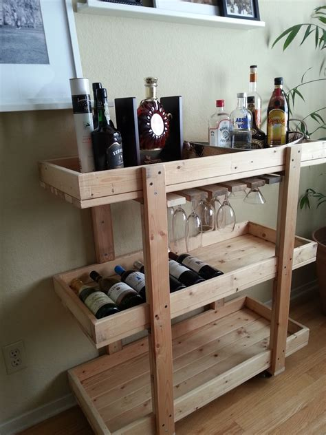 Diy Home Bar by The Nifty Nest Diy Bar Cart