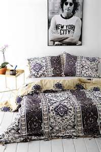 magical thinking boho stripe duvet cover urban outfitters