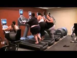 obese sur un tapis de course youtube With tapis de gym avec canapé padova