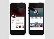 25+ App Profile Page Designs PSD, Vector EPS, JPG