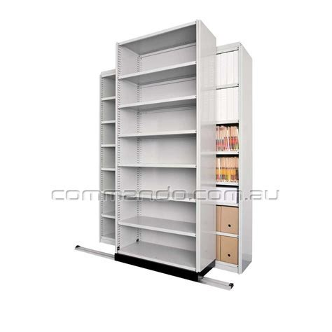 Ezi Glide® Extenda   Mobile Shelving   Commando Storage