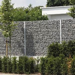 Mur De Cloture En Gabion : amenagement en gabions ~ Edinachiropracticcenter.com Idées de Décoration