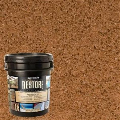 restore concrete for driveway and patio repair the home