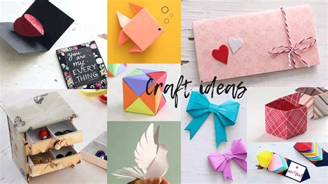 lovely paper crafts diy craft ideas art