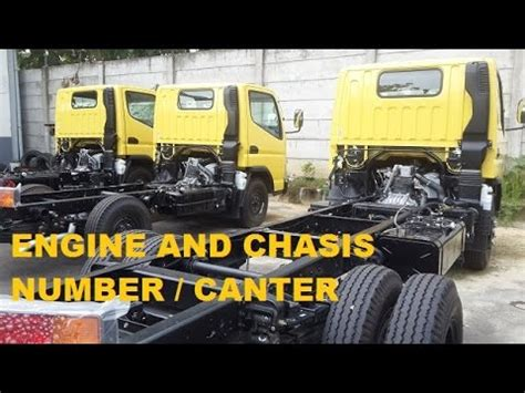 Mitsubishi Locations by Engine And Chassis Number Location Mitsubishi Canter