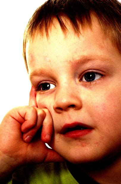 thoughtful child  stock photo public domain pictures