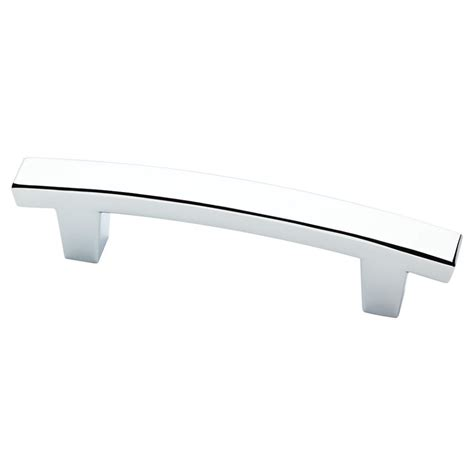 Chrome Cabinet Pull by Liberty Barcelona 3 In 76mm Polished Chrome Cabinet