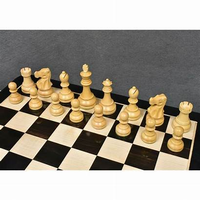 Chess Staunton Pieces Reykjavik Weighted Wood Wooden