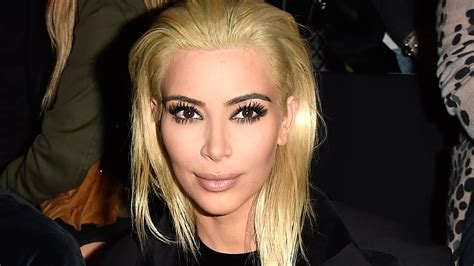 Kim Kardashian Platinum Blonde Hair Youtube