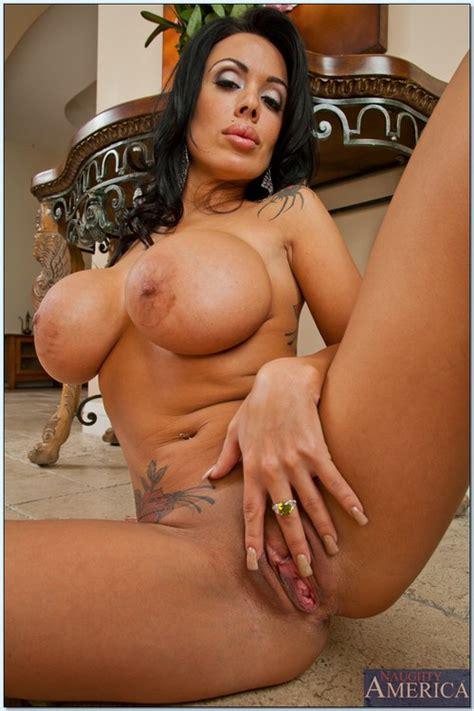 Tattooed Fake Tit Whore Screwed On The Floor Photos