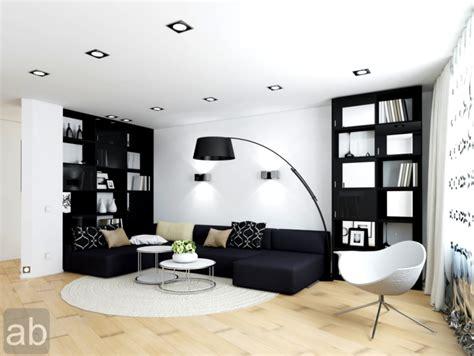 Brown Black White Red Lounge Design Homedesignpics Home