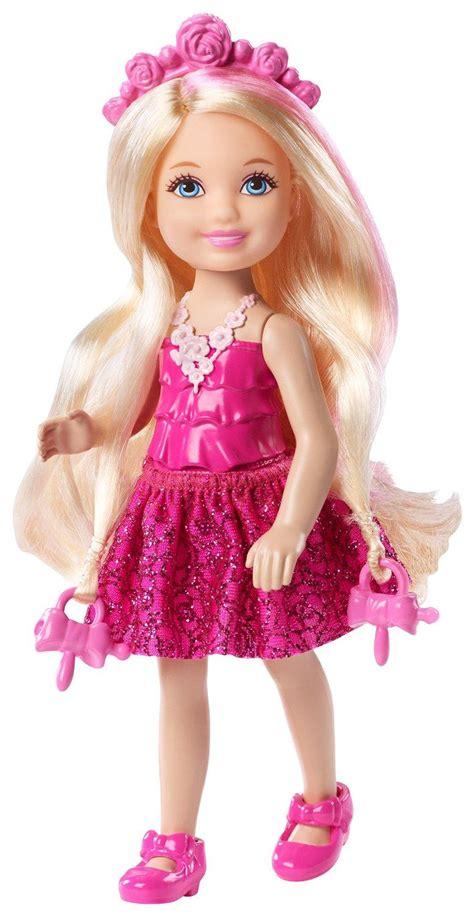 amazoncom barbie dkb endless hair kingdom chelsea doll