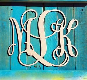 above bed wooden letter vine script monogram monogram door With monogram letters above bed