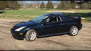 2000 Toyota Celica Gt Review  Start-up  Test Drive