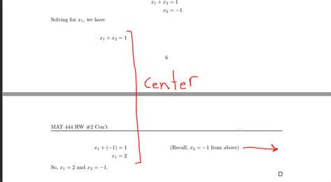 horizontal alignment how to i align horizontal alignment of equations w comment tex