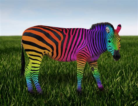 Rainbow Animal Wallpaper - rainbow zebra wallpaper wallpapersafari