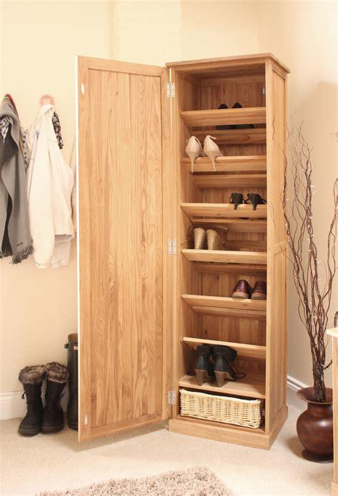 Shoe Cupboard by Conran Solid Oak Furniture Shoe Cupboard Cabinet